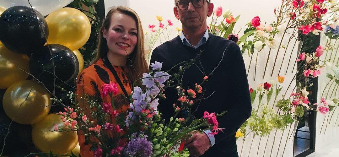 Beursorganisatie TrendZ feliciteert met échte bloemen