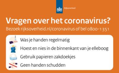 Maatregelen Covid-19