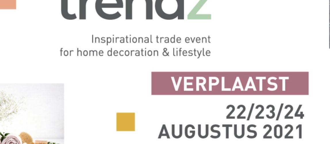 Vakbeurs Trendz Gorinchem januari 2021 verplaatst naar augustus